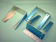 アルミブランケットB アルミ板 A5052P t1.5|企業様向け精密板金加工部品写真