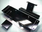 デジタル表示器 SECCボンデ鋼板 t1.6 焼付塗装(ブラック・艶有り)|板金加工写真