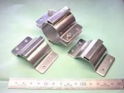 装置配管用パイプバンド(配管バンド・サポート金具) ステンレス SUS304-2B t2.0 試作|板金加工写真
