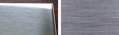 SUS304-#400研磨仕上げ鋼板の表面状態