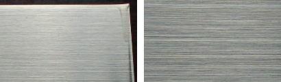 SUS304-HL(ヘアライン)仕上げ鋼板の表面状態